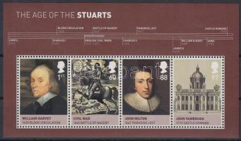 2010 Brit monarchia (IV.) Stuart ház blokk Mi 59