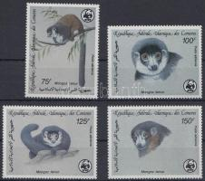 WWF Mongoose lemur set, WWF: Mongúz maki sor