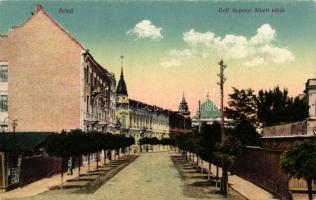 Arad, Gróf Apponyi Albert körút / street