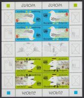 Europa CEPT, The Letter mini sheet, Europa CEPT, A levél kisív