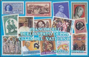 Sistine Chapel frescoes stamp-booklet, Sixtus kápolna freskói bélyegfüzet