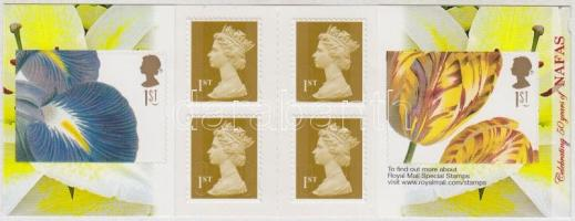 2009 Virágkötészet öntapadós bélyegfüzet MH 0-314 (Mi 2774-2775)