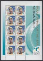 2000 Paralimpia, Sydney hajtott kisív Mi 2000