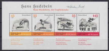 2007 Wilhelm Busch születésének 175. évfordulója blokk Mi 71