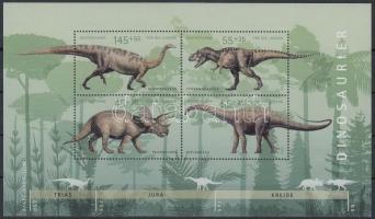 2008 Dinoszauruszok blokk Mi 73