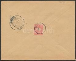 1900 5kr levélen IRIG