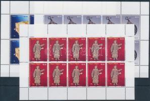 2008 Képzőművészet, ékszer kisív sor Mi 106-110