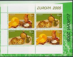 2005 Europa CEPT, Gasztronómia bélyegfüzet MH 9 (Mi 511-512)