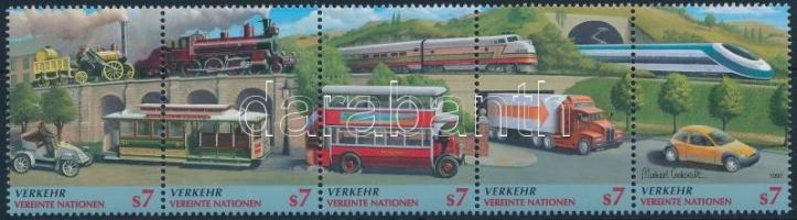 1997 Közlekedés ötöscsík Mi 231-235