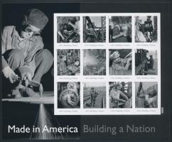 American film industry foil sheet, Amerika ipara fóliaív
