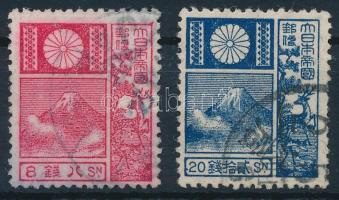Fuji mountain closing stamps, Fudzsi hegy záróértékek