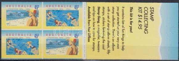 Life-saver self-adhesive stamp-booklet, Életmentők öntapadós bélyegfüzet