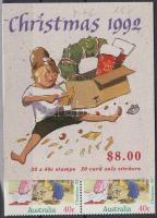 Karácsony bélyegfüzet, Christmas stamp-booklet