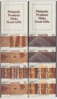 Crafts stamp-booklet pair, Kézművesség bélyegfüzetpár