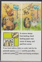 Kevin Koala self-adhesive stamp-booklet, Koala Kevin öntapadós bélyegfüzet