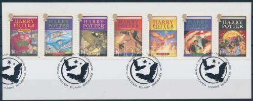 2007 Harry Potter hetescsík Mi 2535-2541 kivágáson