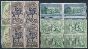 El Cid set in blocks of 4, El Cid sor 4-es tömbökben