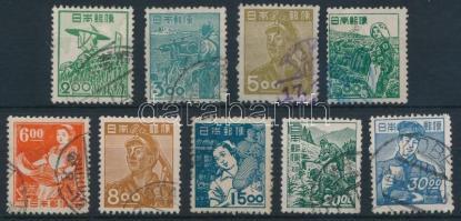 1948/1949 Professions set, 1948/1949 Szakmák sor