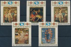 Easter: religious paintings set, Húsvét: vallásos festmények sor