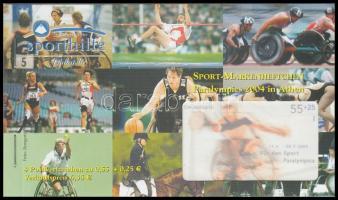 2004 Sporthilfe bélyegfüzet Mi 2384