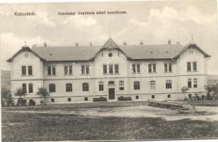 Kolozsvár, Cluj; Gazdasági Akadémia külső konviktusa, kiadja Divald Károly fia / Economics Academy