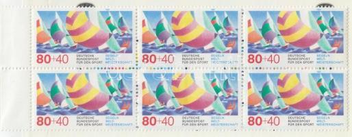 1987 Sporthilfe bélyegfüzet Mi 1310