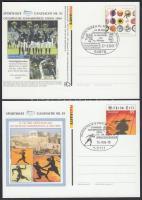 2004 Sporthilfe 2 klf levelezőlap Mi PSo 84+88