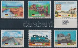 Centenary of Germany-Togo friendship set 6 values, 100 éves Német- Togo barátság sor 6 értéke