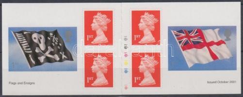2001 Zászló bélyegfüzet MH 0-257 (Mi 1964-1965)