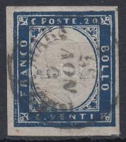 Szardínia1855 Forgalmi Mi 12b