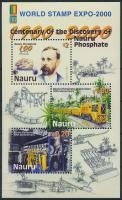 2000 Nemzetközi bélyegkiállítás blokk Mi 27 I A