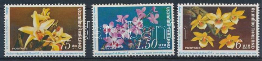 Orchid set 3 values, Orchidea sor 3 értéke