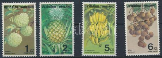 Fruits set, Gyümölcs sor