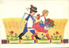 Hungarian folklore s: H. Morvay Klári, Magyar folklór, s: H. Morvay Klári