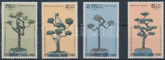 International Correspondent Week Trees set, Nemzetközi levelező hét, törpefák sor