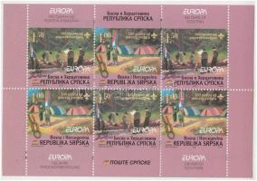 Europa CEPT, Scout stamp-booklet, Europa CEPT, Cserkész bélyegfüzet