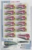 2011 Mozdony kisív sor  Mi  1156-1159
