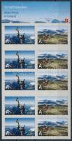 2007 Turizmus öntapadós bélyegfüzet Mi 1610-1611