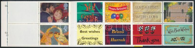 1995 Festmények bélyegfüzet MH 107 (Mi 1554-1563)