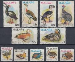 1975 Madarak 11 érték Mi 229-239