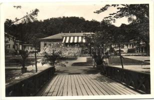 Parád-gyógyfürdő, Kaszinó, kávéház épület