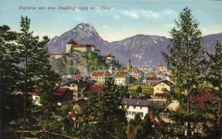Kufstein (Tirol); general view with Mount Pendling