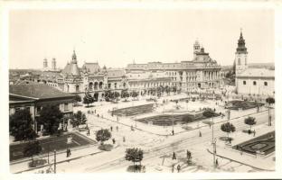 Oradea,  square / ( slant cut), Nagyvárad, Szent László tér / (ferdén vágott )