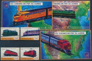2001 Nemzetközi bélyegkiállítás (Brüsszel) sor Mi 3129-3132 + kisív sor 3133-3144 + blokksor 653-655