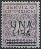 1925 Elszámolási bélyeg Mi 11