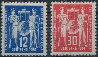 1949 Postaügyi szakszervezet sor Mi 243-244