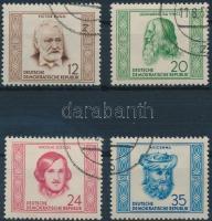 1952 Híres emberek sor Mi 311-314
