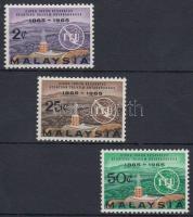 1965 Távközlés sor Mi 11-13