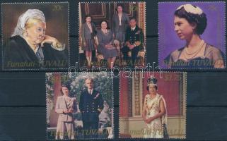 II. Erzsébet királynő sor Queen Elizabeth II. set