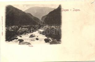 Nikko, river (wet damage)